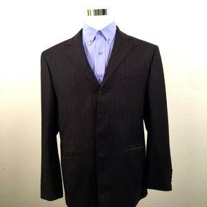 Burberry London Mens Sport Coat Blazer Jacket 44 R